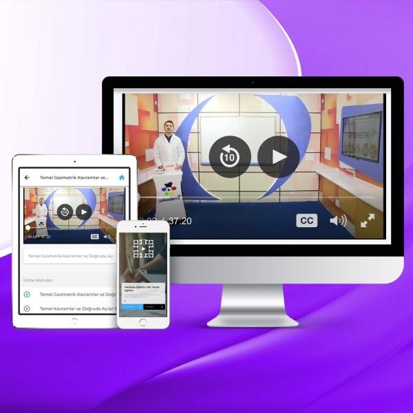 YKS Eşit Ağırlık Online Eğitim Seti