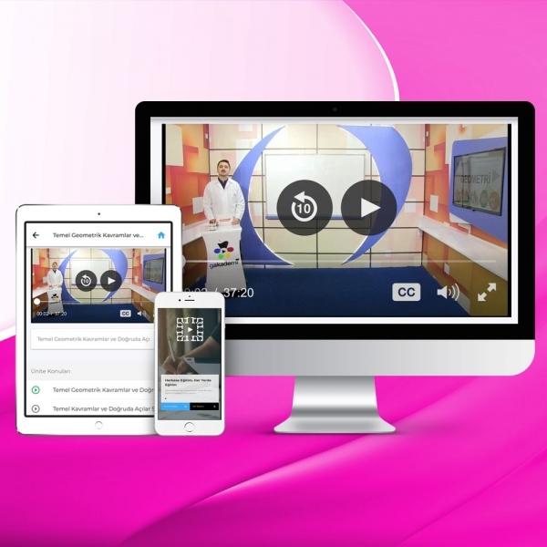 YKS Sayısal Online Eğitim Seti